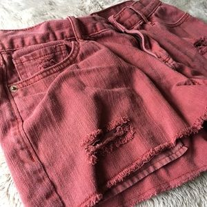 Old Navy Distressed Shorts Sz 4